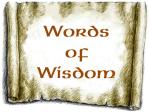 CA-Wisdom Scroll